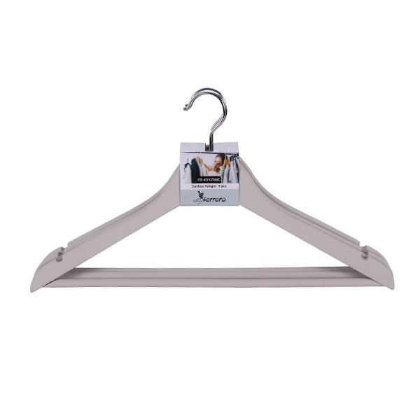 Закачалки за дрехи FR-4532NBC, 3бр, сл.кост